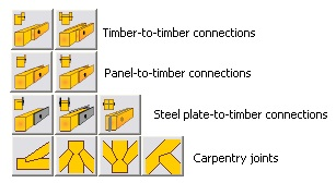 CONNECTIONS BETWEEN TIMBER STRUCTURES