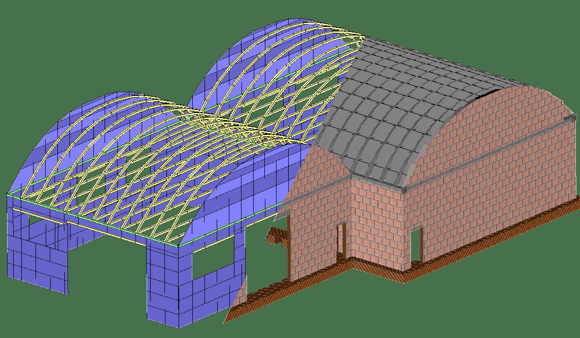 Arco In Muratura Calcolo.3d Macro Software Per Le Murature Eiseko Computers
