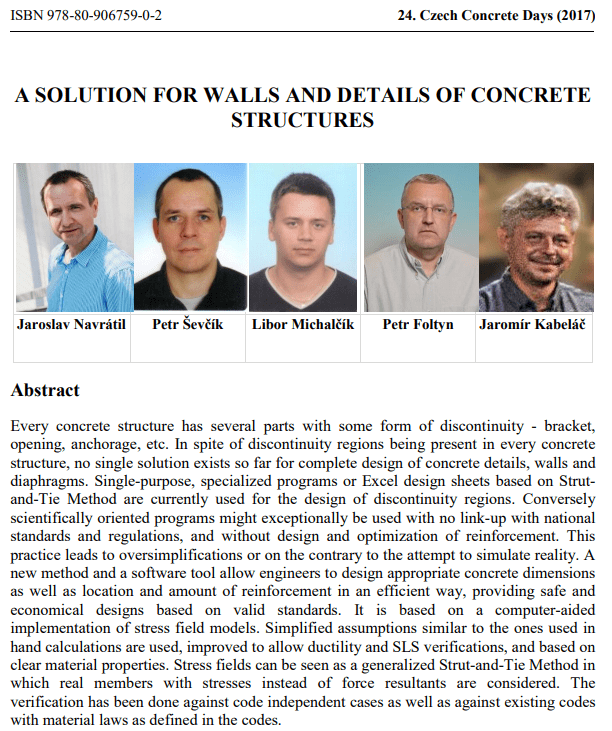 A SOLUTION FOR WALLS AND DETAILS OF CONCRETE STRUCTURES