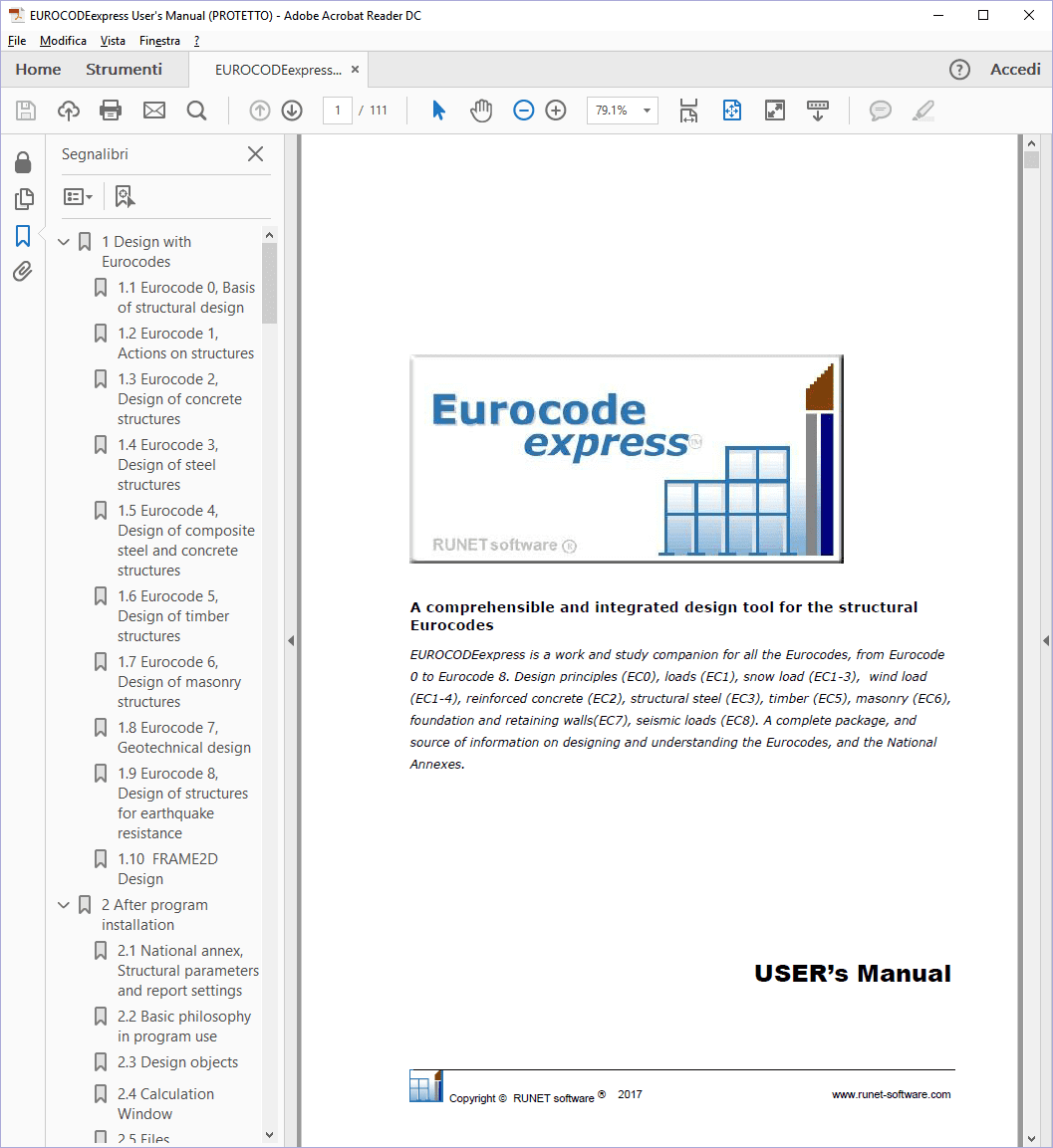 Manuale EUROCODEexpress