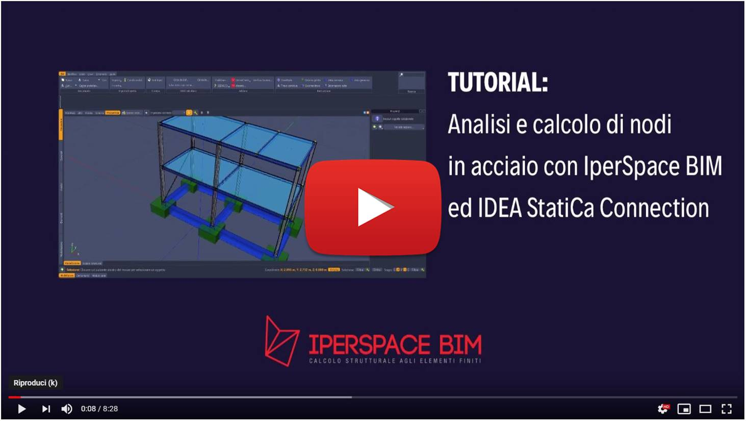 Video tutoria IperSpace - Connection