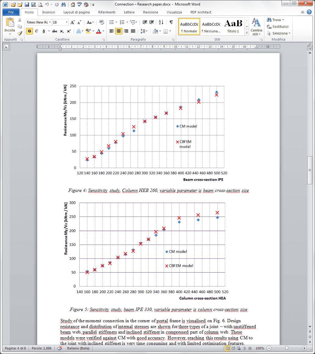 metodo delle componenti avanzato - comprovazione teoria che sta alla base