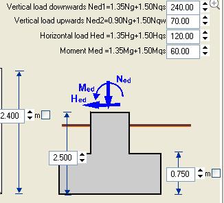 Plinti per pilastri d acciaio calcolati con betonexpress for Pilastri anteriori per la casa