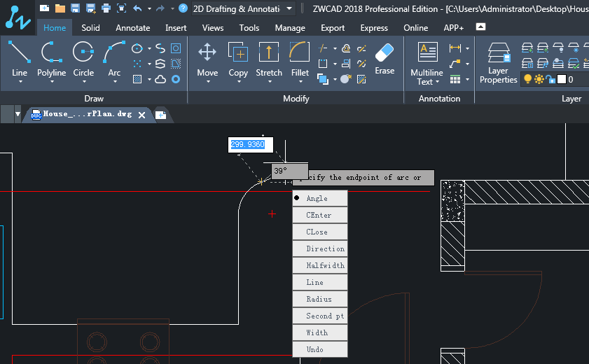 Dynamic Input with editable real-time dimensions and drop-down menu