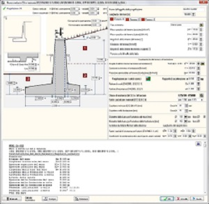 Progetto Muro Di Contenimento.Software Di Calcolo Muri Di Contenimento Eiseko Computers