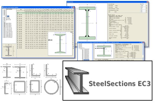Design tables for Steel Sections